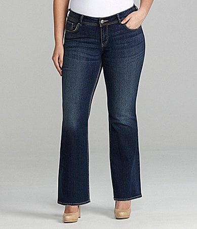 Silver Jeans Co. Woman Suki Curvy Fit Bootcut Jeans