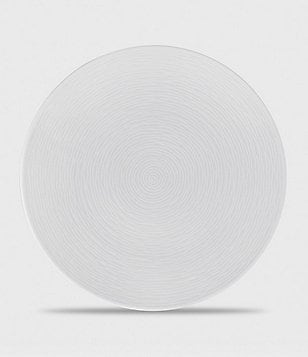 Noritake White on White Collection Swirl Salad Plate