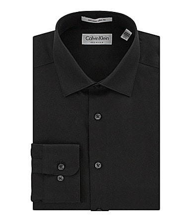 Calvin Klein Fitted Dress Shirt
