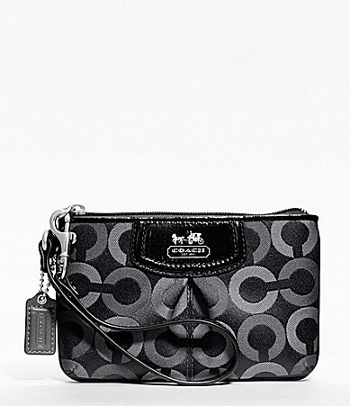 COACH MADISON OP ART MULTI SMALL WRISTLET