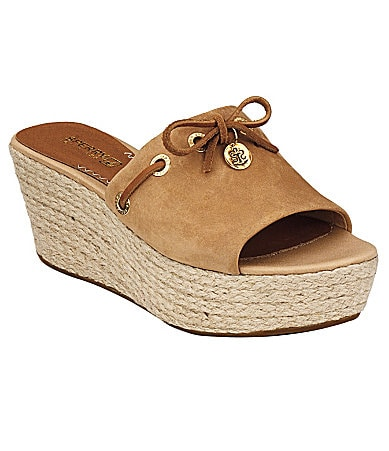 Sperry Top-Sider Women�s Hillsboro Slip-On Wedge Sandals