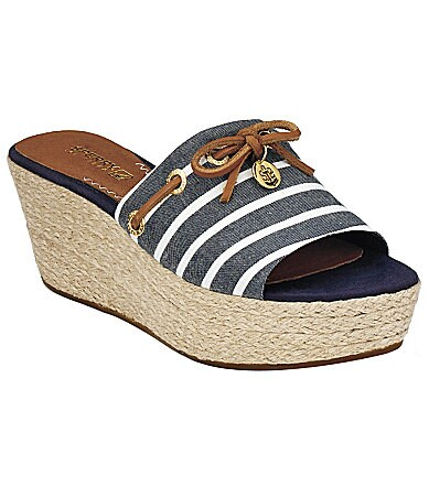 Sperry Top-Sider Women�s Hillsboro Slip-On Wedges