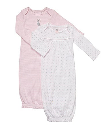 Carter�s Newborn Gowns 2-pack