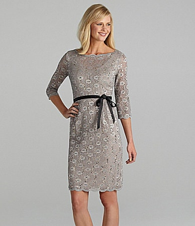 Alex Evenings Lace Dress