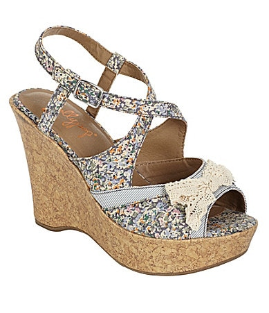 Jelly Pop Felden Wedge Sandals