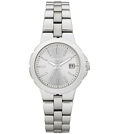 Fossil Sylvia Silvertone Ladies Watch