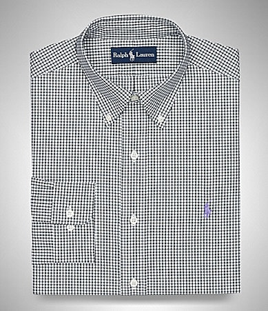 Polo Ralph Lauren Classic-Fit Check Oxford Dress Shirt