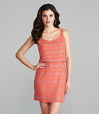 Gianni Bini Cameron Beaded Dress
