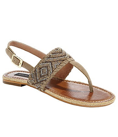 Steven by Steve Madden Braidey Thong Sandals