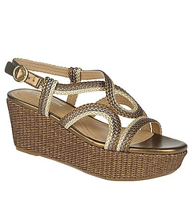 Naturalizer Framed Wedge Sandals