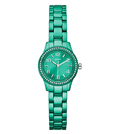 Guess Ladies Trend Micro-Mini Turquoise Green Watch