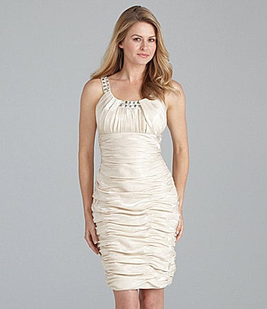 Cachet Ruched Dress