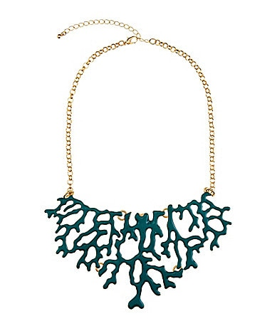 Anna & Ava Coral Reef Statement Necklace