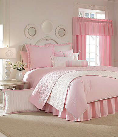 Cremieux Classic Oxford Pink Bedding Collection