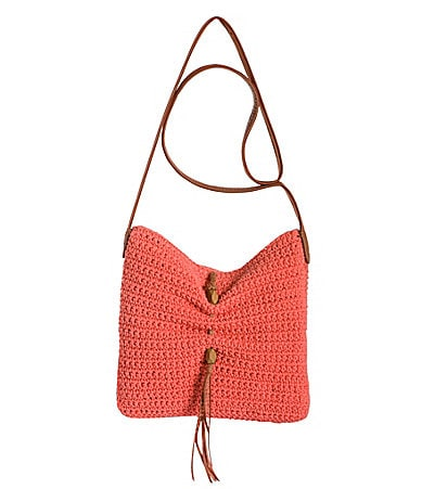 Lucky Brand Ojai Crochet Cross-Body Bag