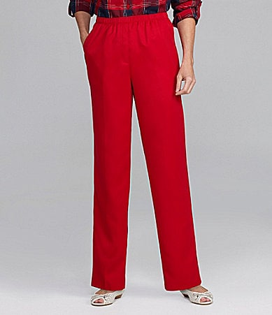 Allison Daley Petites Pull-On Pants