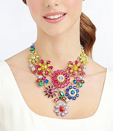 Natasha Accessories Paradise Statement Necklace
