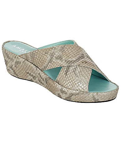 Amalfi Bovia Wedge Sandals