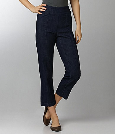 Westbound Petites PARK AVE fit SLIM FX Denim Ankle Pants