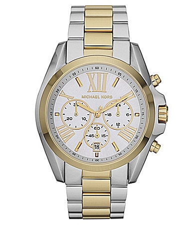 Michael Kors Bradshaw Two-Tone Ladies Chronograph Watch
