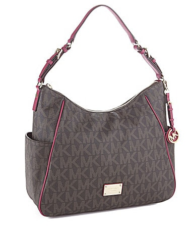 MICHAEL Michael Kors Signature Large Jet Set Shoulder Bag