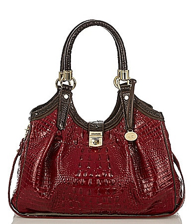 Brahmin Tri-Color Collection Elisa Satchel