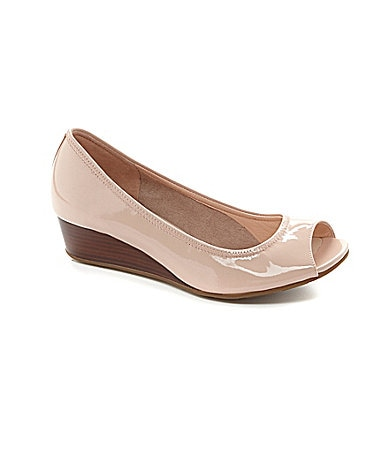 Cole Haan Tali Peep-Toe Wedge Sandals