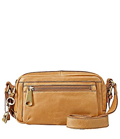 Fossil Explorer Top Zip Cross-Body Bag