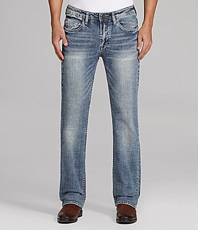 Buffalo David Bitton Driven X Basic Straight-Leg Jeans