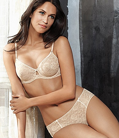 b.tempt�d by Wacoal Full Bloom Stretch Lace Underwire Bra & Hipster Panty