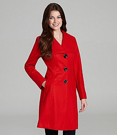 Guess Envelope-Collar Walking Coat