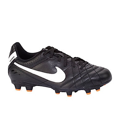 Nike Boys Jr Tiempo Natural IV FG Soccer Cleats