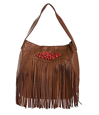 Lucky Indio Fringe Hobo