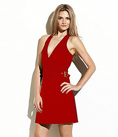 Laundry by Shelli Segal Jersey Halter Dress