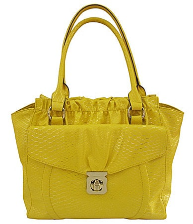 Kathy Van Zeeland  Center Of Attention Snake Tote