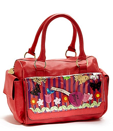 Betsey Johnson Playground Satchel