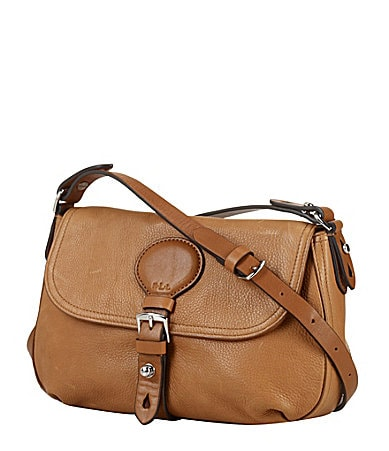 Lauren Ralph Lauren Asher Tumbled Cross-Body