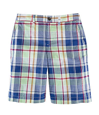 Ralph Lauren Childrenswear 2T-7 Maritime Plaid Shorts