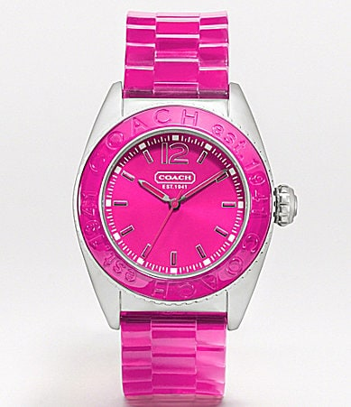 COACH ANDEE STRAP WATCH