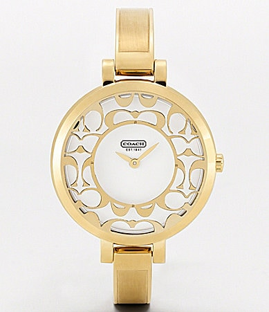 COACH SABRINA BANGLE WATCH