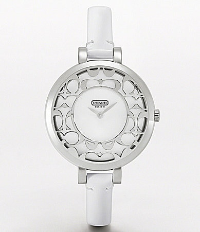 COACH SABRINA STRAP WATCH