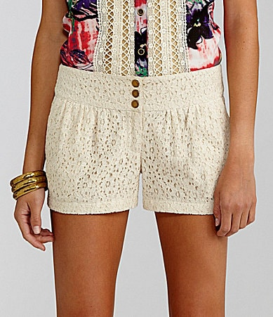 GB Lace Shorts