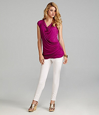 Cremieux Carmen Top & 5-Pocket Skinny Pants