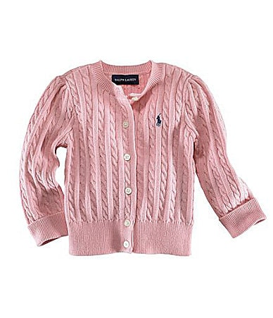 Ralph Lauren Childrenswear Infant Cardigan Sweater