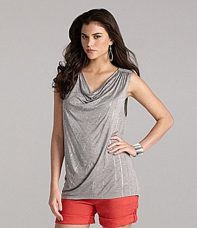 Gianni Bini Pacifica Sleeveless Knit Top