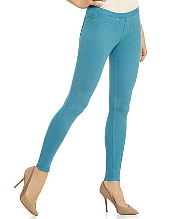 HUE The Original Jeans Solid Color Leggings