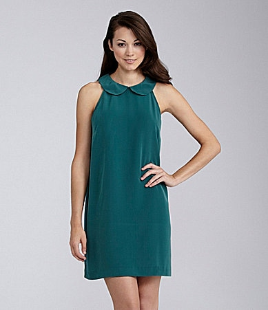 BCBGeneration Collared Shift Dress