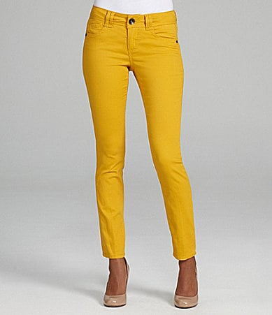 Boden Cropped Soho Skinny Jeans Mimosa Yellow Women Boden Boden USA $ $ PAIGE. PAIGE Women's Hoxton Ankle Jeans, Faded Pastel Yellow, 31 $ at Amazon. This high rise, straight leg jean is slightly more relaxed take on the Hoxton ultra skinny.