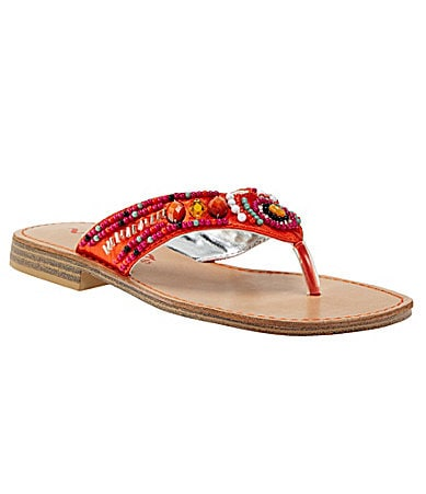 Nina Girls Neviah Thong Sandals