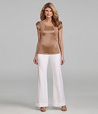 Antonio Melani Knit Marissa Mixed-Media Top & Maxine Pants